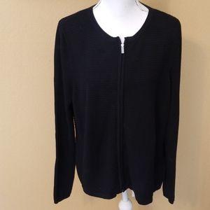 🍹Zipper Front Sweater